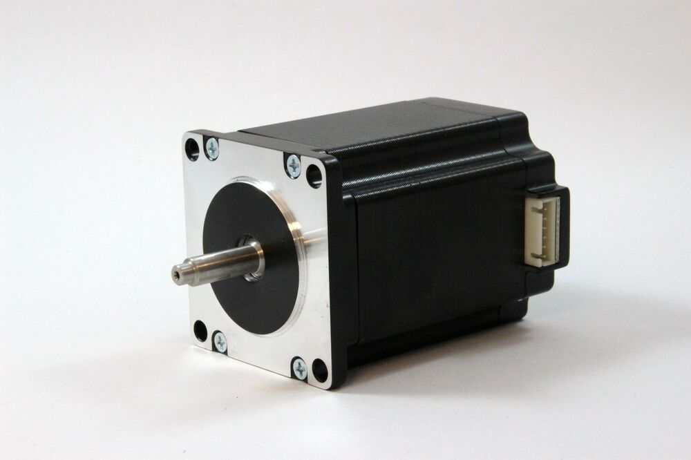 Nema 23 stepper motor bipolar with 4 lead wires 7mm shaft for 4 wire bipolar stepper motor