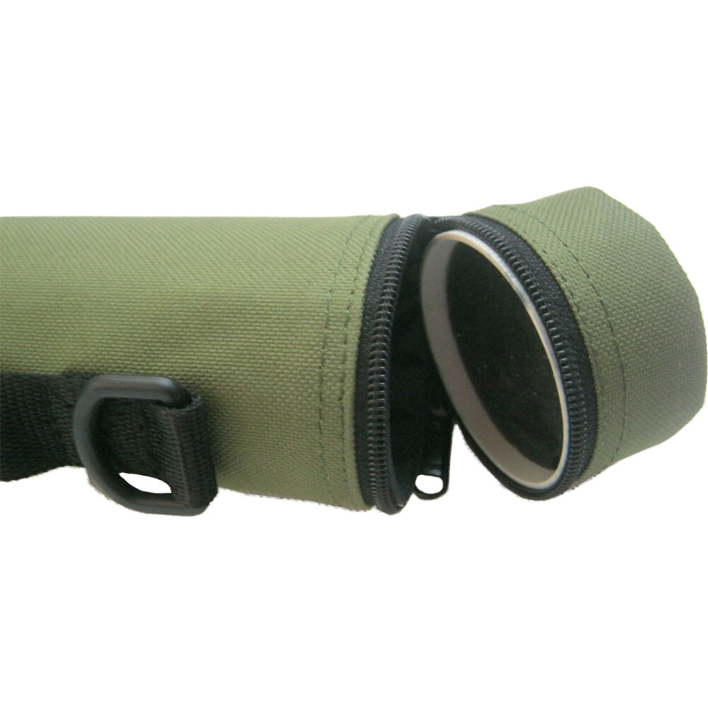 Aventik best hard cordura fishing rod travel tube rod case for Fishing rod travel tubes