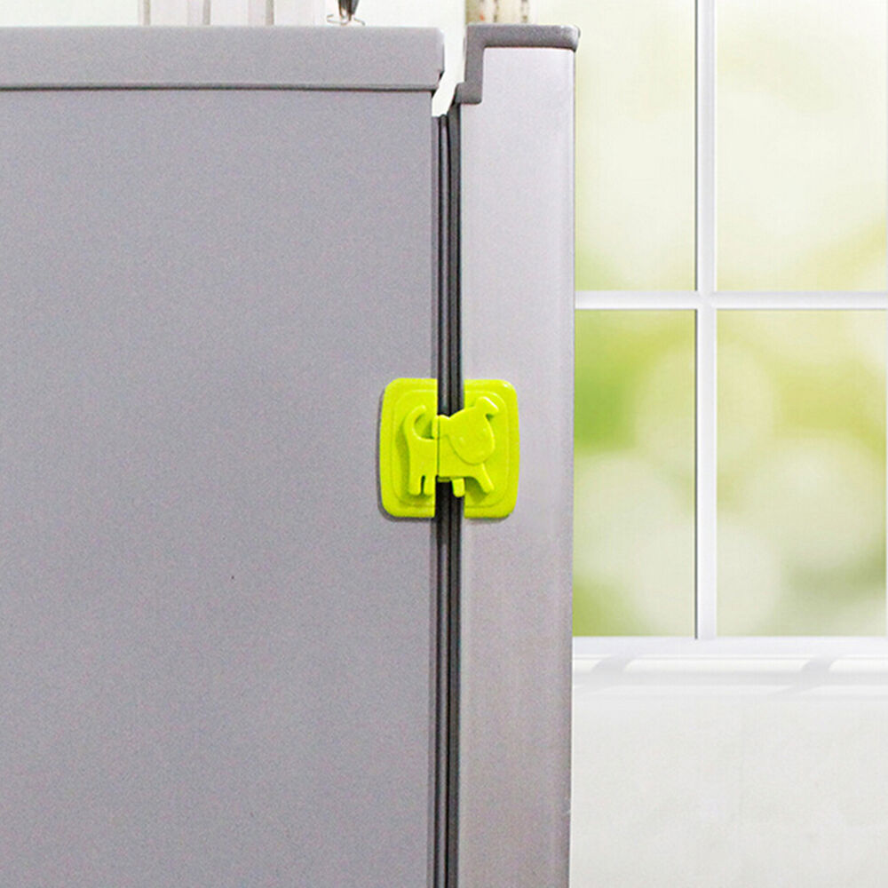 kids child baby pet proof door cupboard fridge cabinet drawer safety lock abus ebay. Black Bedroom Furniture Sets. Home Design Ideas