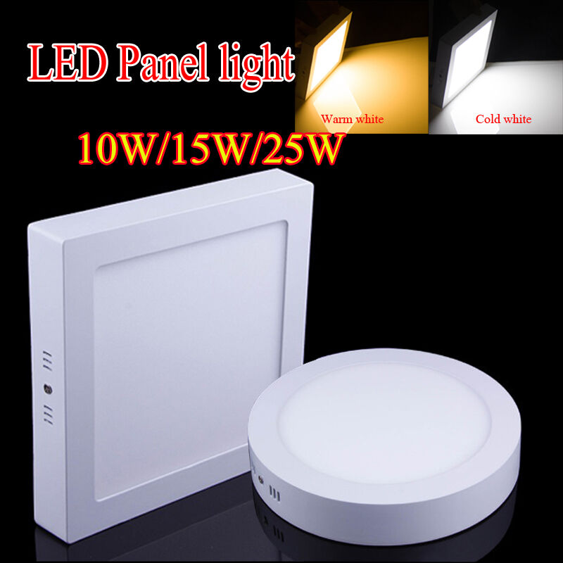Surface Mounted LED Panel Light Dimmable Ceiling Downlight