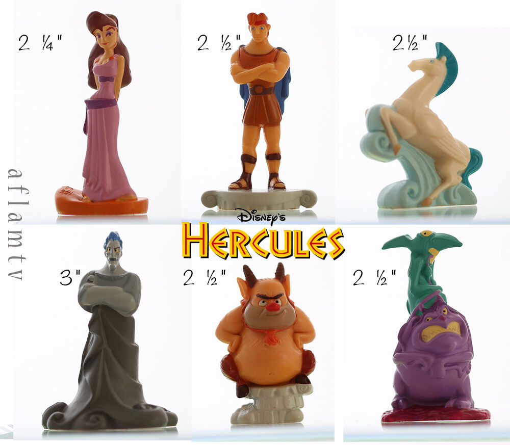 Toys For Hercules : Hercules figurines gift set applause rare disney figure