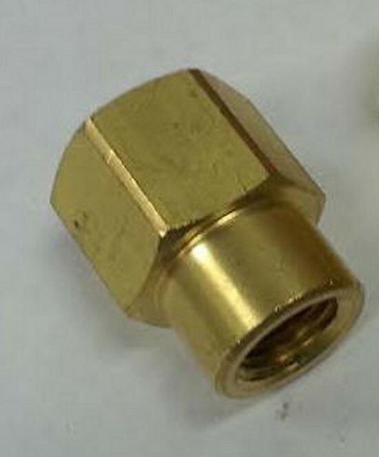 To quot coupling brass pipe fitting npt adapter