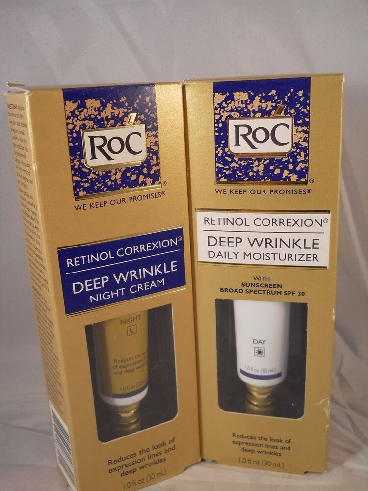RoC Retinol Correxion Correction Deep Wrinkle Night Cream