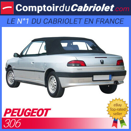 capote peugeot 306 cabriolet en alpaga ebay. Black Bedroom Furniture Sets. Home Design Ideas