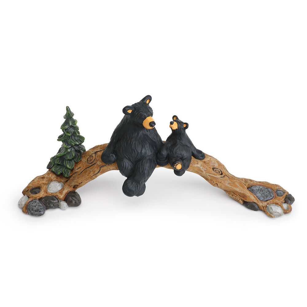 New big sky carvers jeff fleming bearfoots bear figurine