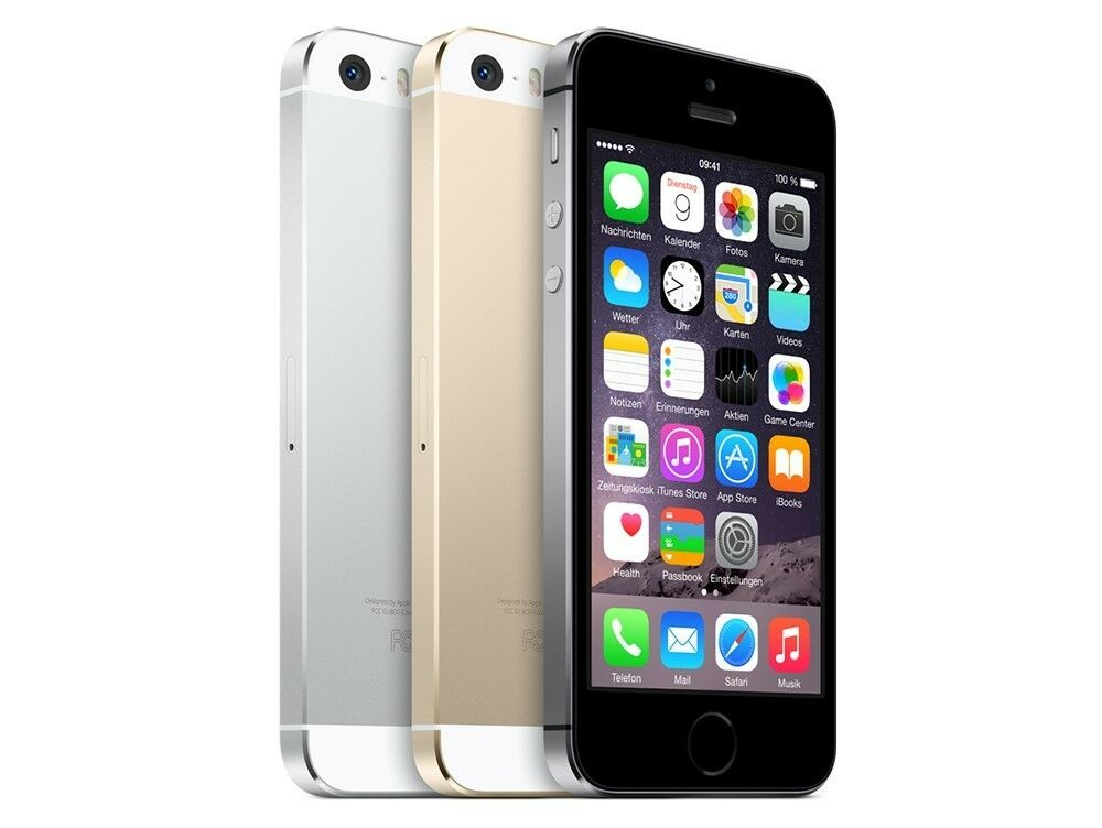 apple iphone 5s 16gb 32gb 64gb in farbe grau silber gold. Black Bedroom Furniture Sets. Home Design Ideas