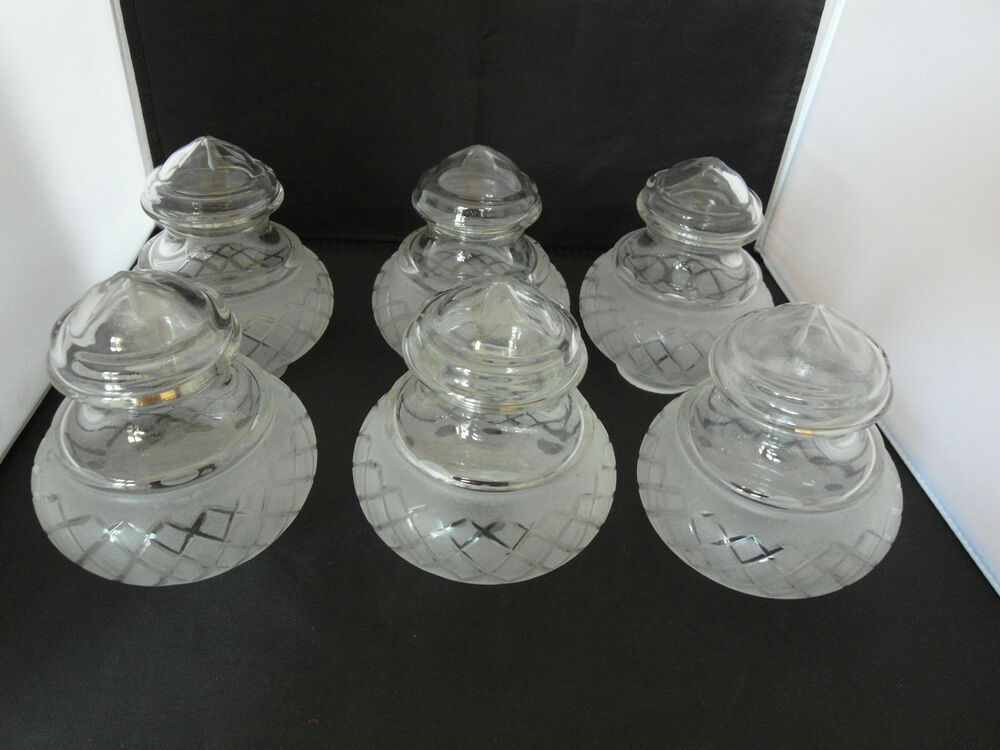 Victorian Etched Cut Glass Lamp Shades Ebay