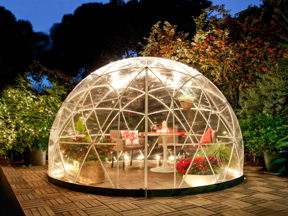 garden igloo stylischer wintergarten spielraum kinder gew chshaus oder 10m ebay. Black Bedroom Furniture Sets. Home Design Ideas