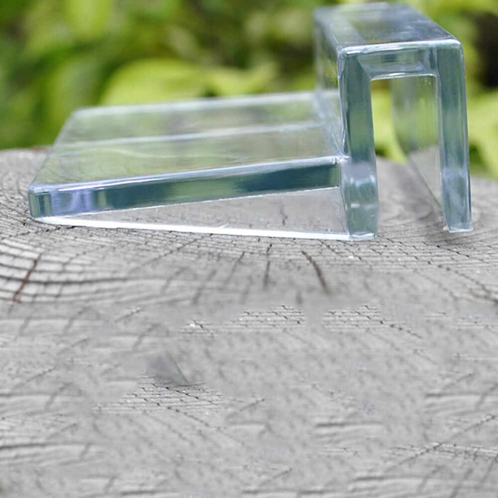 6 8mm aquarium tank clear plastic clips glass cover strong for How strong is acrylic glass