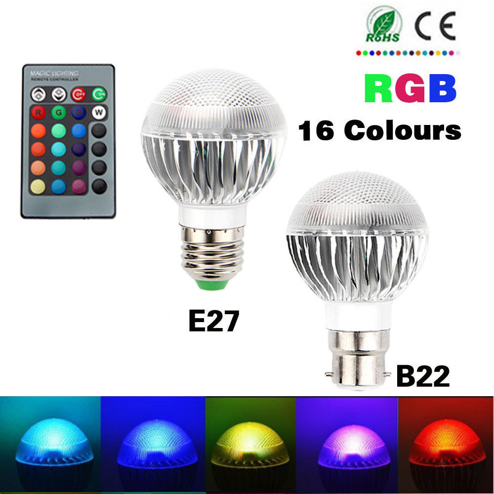 Mr Color Changing Led Bulbs