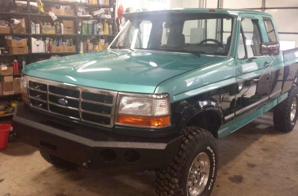 Ford F150 Aftermarket Parts >> Ford Front Winch Bumper 1992-96 F-150 F-250 F-350 Bronco ...