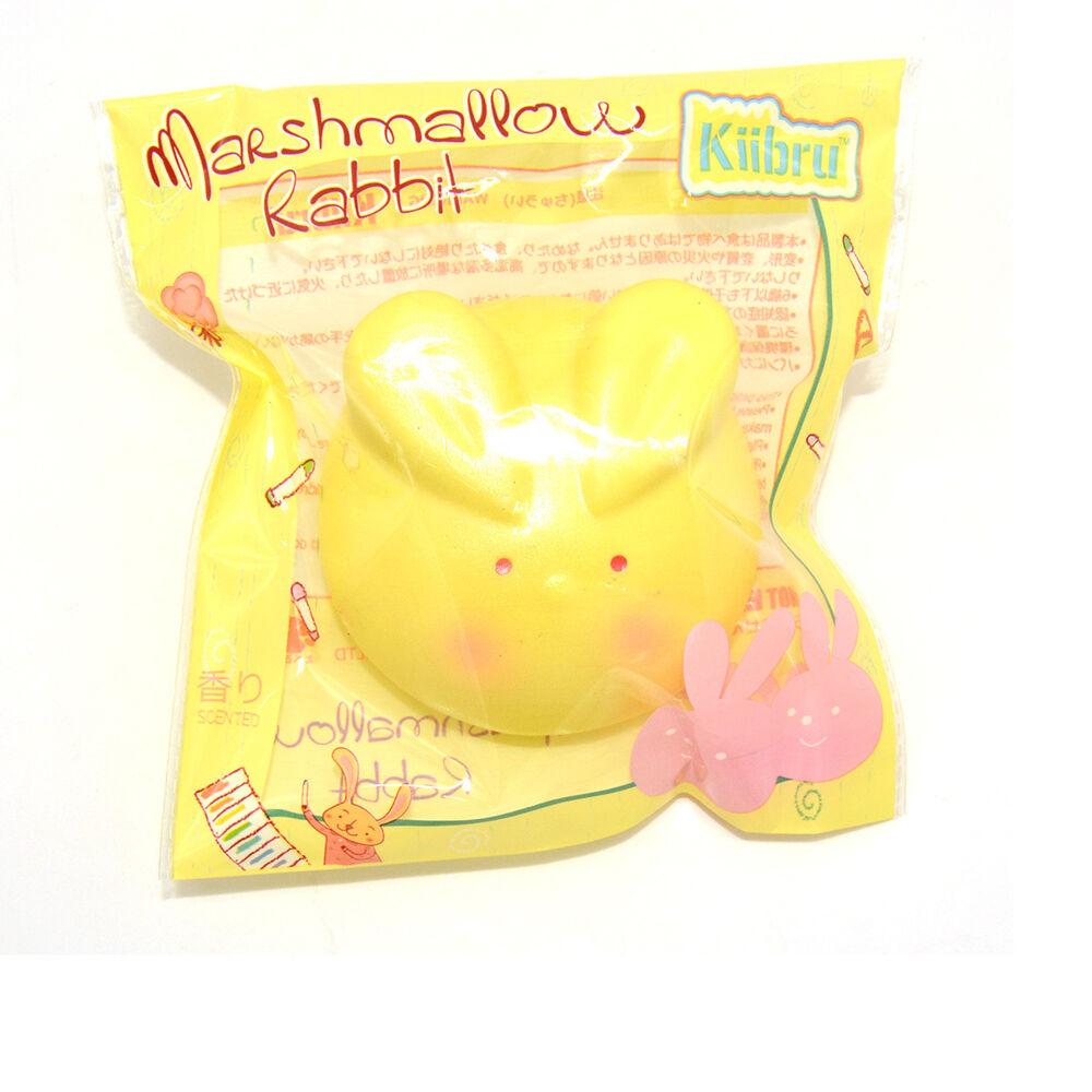 Bunny Wishes Squishy : Kawaii Kiibru Squishy Marshmallow Rabbit Slow Rising Doll Bunny Scented Glitter eBay