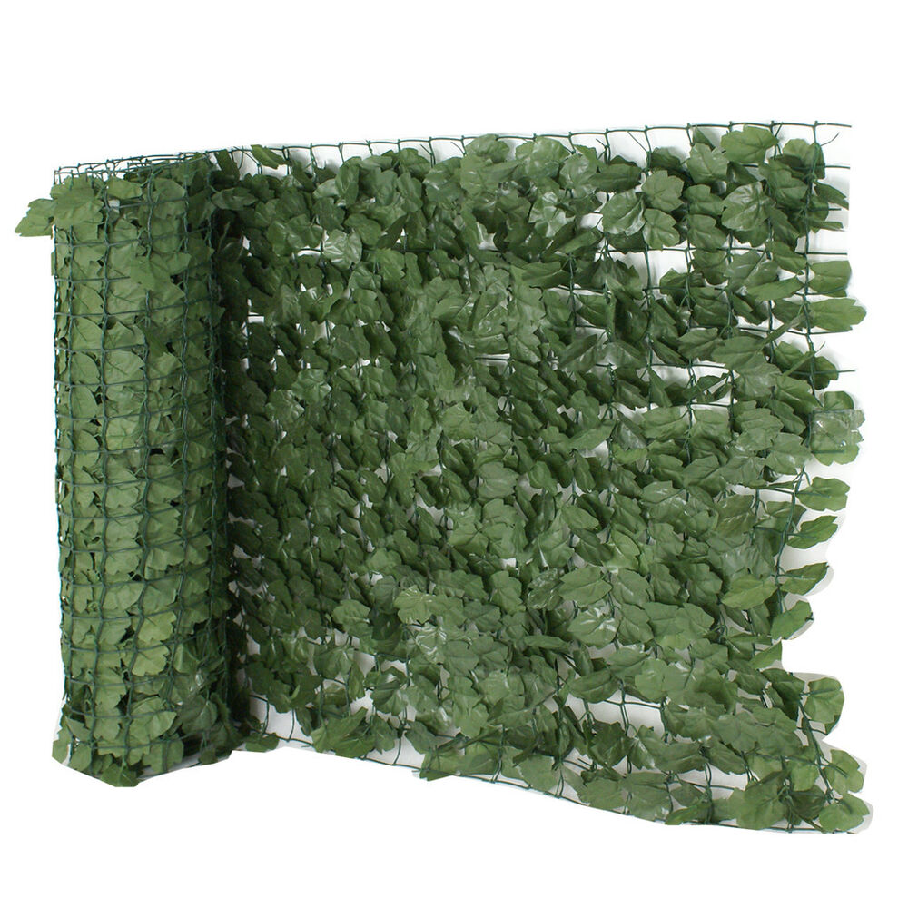 Tall Artificial Faux Ivy Leaf Privacy Fence Screen D 233 Cor