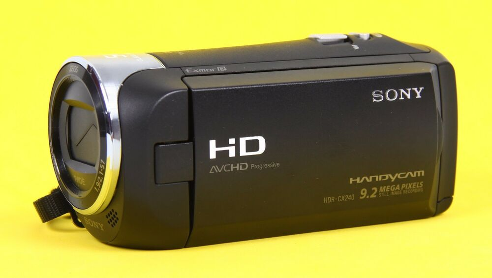 sony handycam hdr cx240 manual