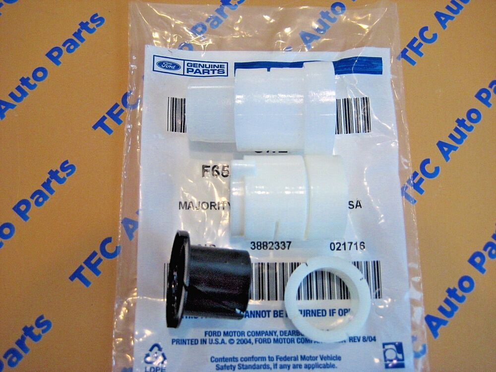 Ford F150 Accessories >> Ford F150 F250 F350 Bronco Clutch Pedal Bushing Repair Kit OEM New Genuine Part | eBay