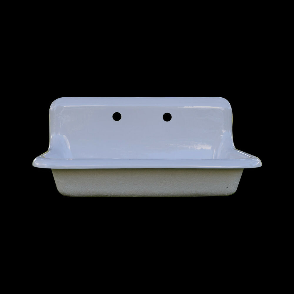 Reproduction Single Bowl Farmhouse Drainboard Sink Model SB3018