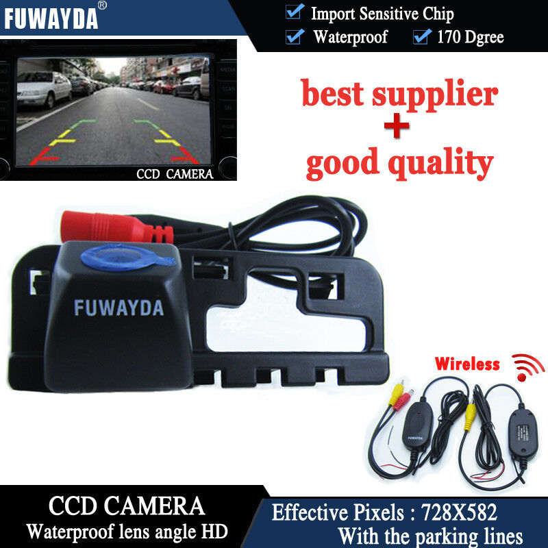 Wireless Wifi Ccd Reverse Parking Camera For Honda Civic
