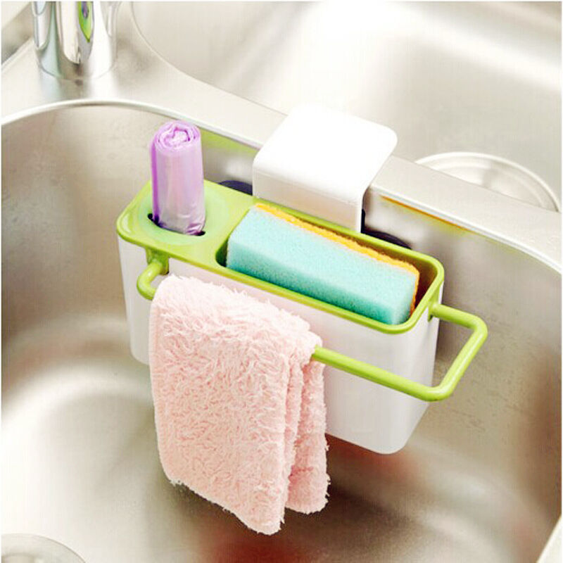 Kitchen Cleaning: Kitchen Gadget Tool Cleaning Storage Box Drainer Utensil