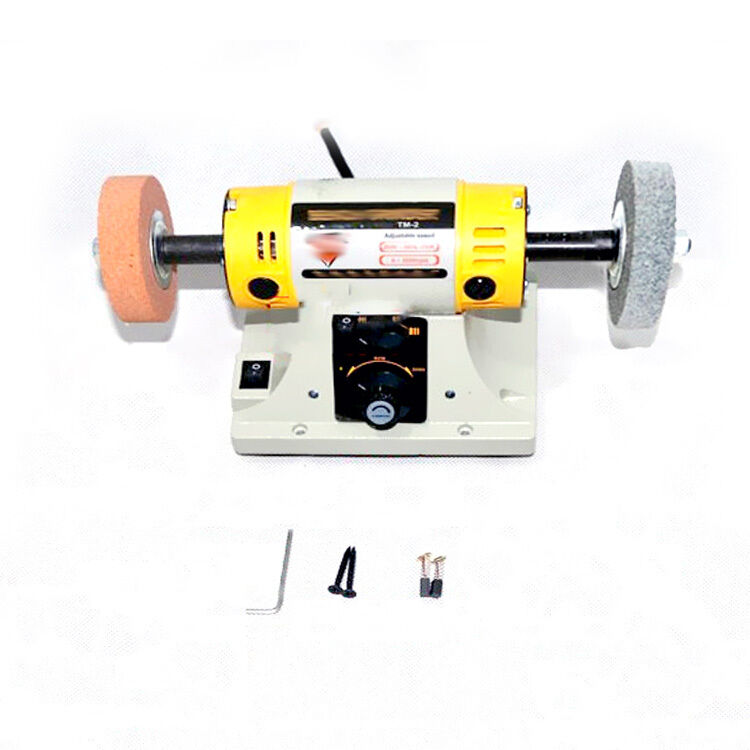 Yes Small Multifunctional Diy Lower Noise Y2r3 Bench Grinder Polishing Machine Ebay