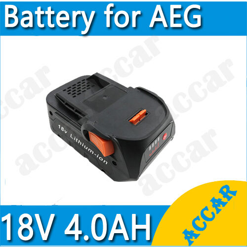 battery for aeg 18v li ion 4 0ah bho18 bsb18 bss18c aeg bst18x aeg bms 18c au ebay. Black Bedroom Furniture Sets. Home Design Ideas