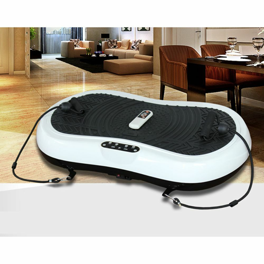 oobest vibrationsplatte breiter vibration plate fitnessplatte vibrationstraining ebay. Black Bedroom Furniture Sets. Home Design Ideas