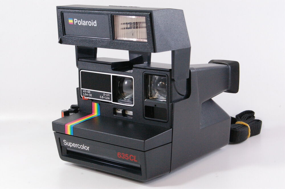 polaroid supercolor 635 cl instant camera for 600 film tested ebay. Black Bedroom Furniture Sets. Home Design Ideas