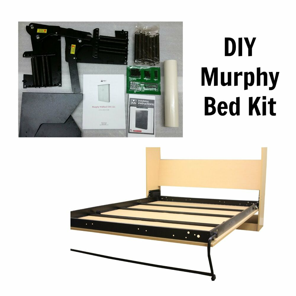 Queen Size DIY Murphy Bed Kit Vertical Murphy Wallbed ...