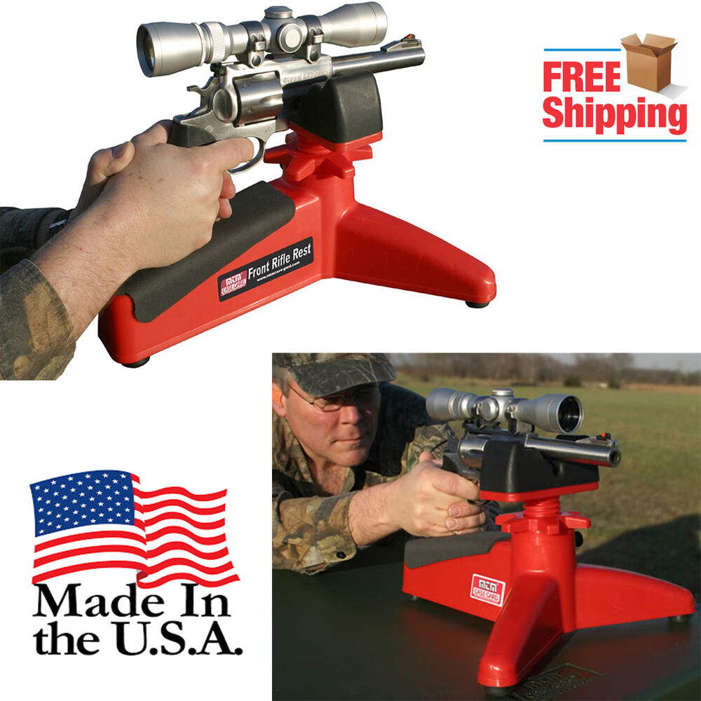 Portable-Shooting-Front-Rear-Bench-Rest-Bag-Rifle-Target-Stand-for-Hunting-Gun