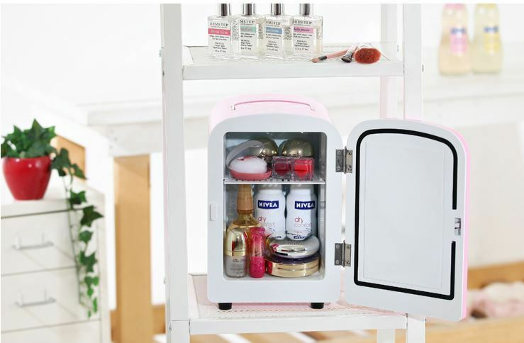 Mini Portable Refrigerator 4l Cooler Amp Warmer For Cosmetic