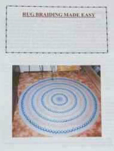 Rug Braiding Made Easy Instructions For Braided Rugs