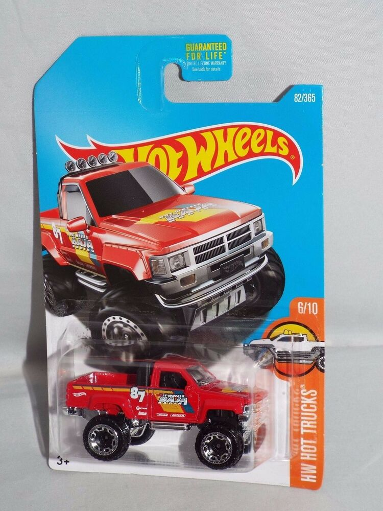 hot wheels 2017 hw hot trucks series 82 1987 toyota. Black Bedroom Furniture Sets. Home Design Ideas