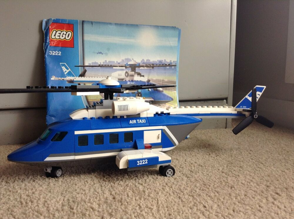 Lego City Sets Air Taxi 3222 Ebay
