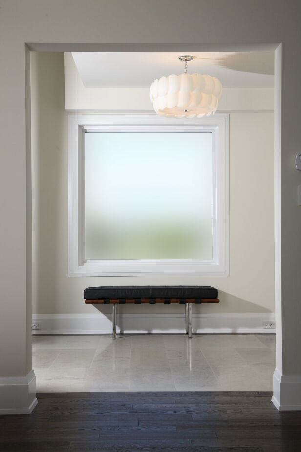 Plain Frosted Window Film Privacy Etched Glass Sticky Back