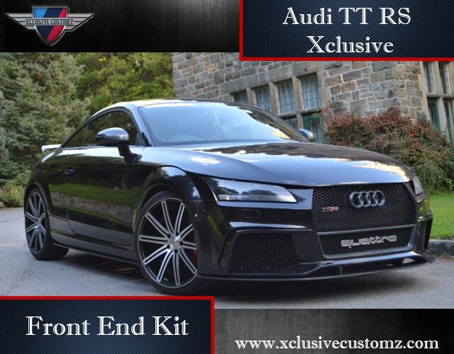 audi tt rs xclusive design front end body kit for audi tt. Black Bedroom Furniture Sets. Home Design Ideas