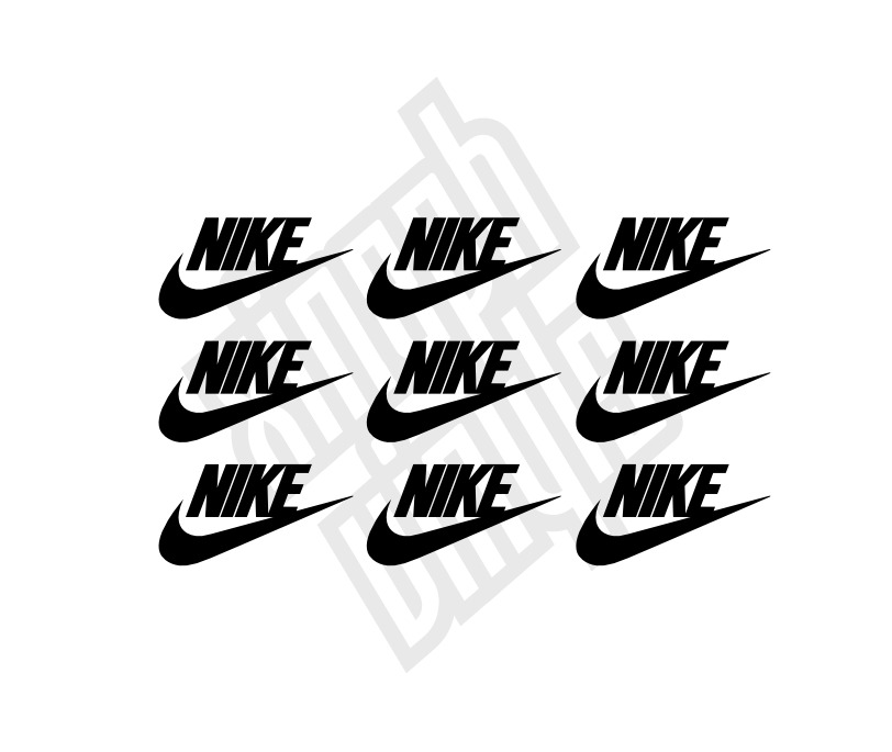 9 X Nike Vinyl Sticker Decal Iphone Car Window Optional