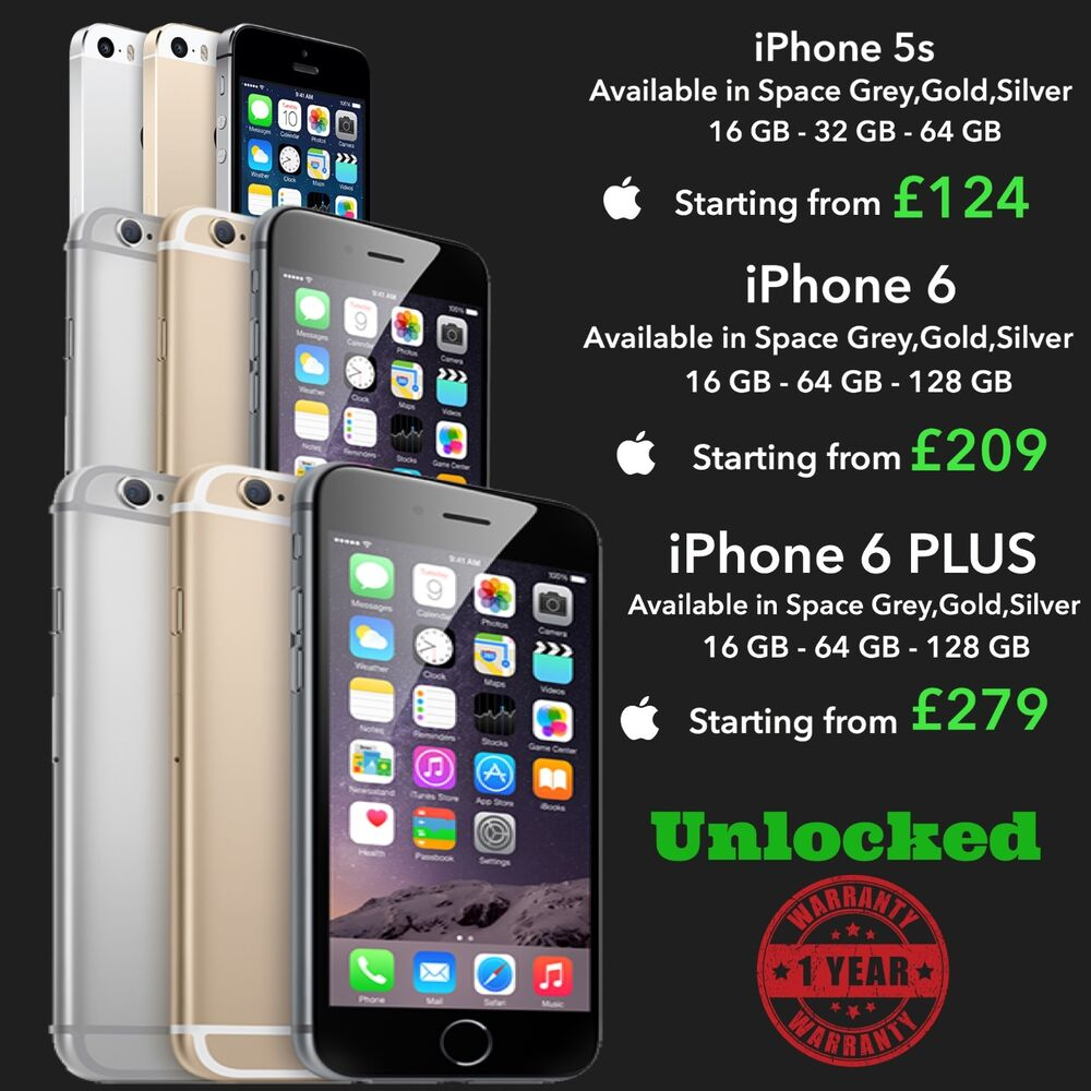 iphone 5s 64gb unlocked iphone 5s 6 6 plus 16gb 32gb 64gb 128 gb space grey silver 5361