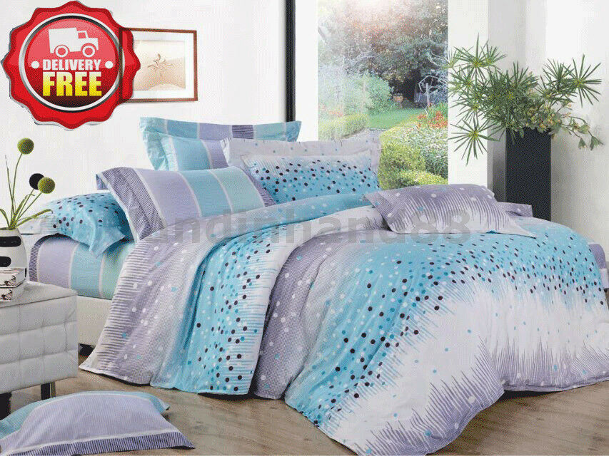 G113 Duvet Doona Quilt Cover Set Queen King Super King