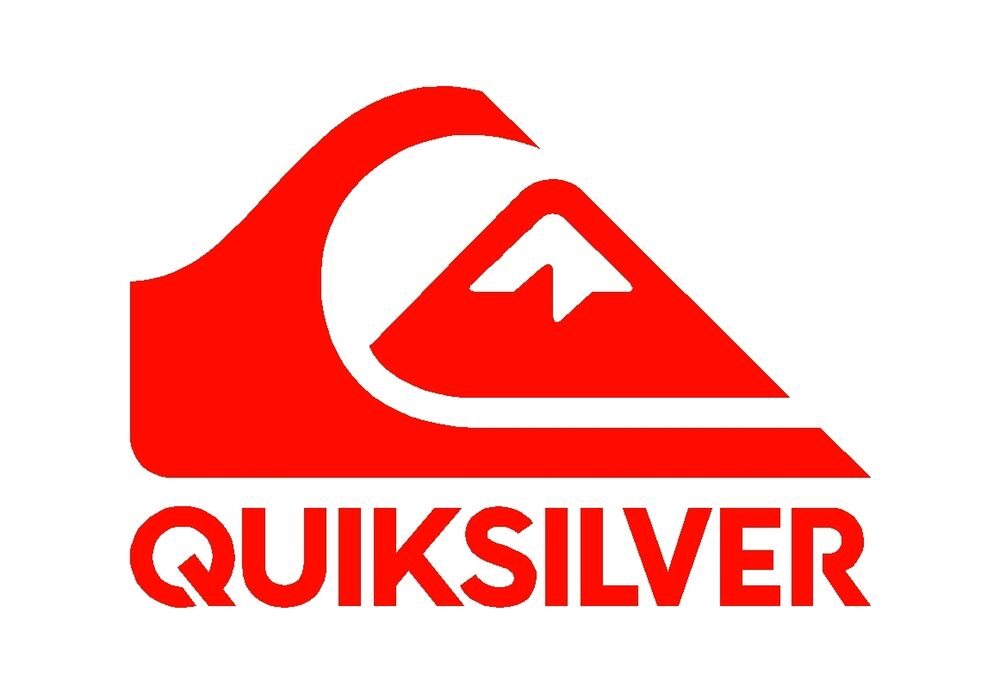 Quiksilver Surf Logo Vinyl Decal Quicksilver Car Window ...