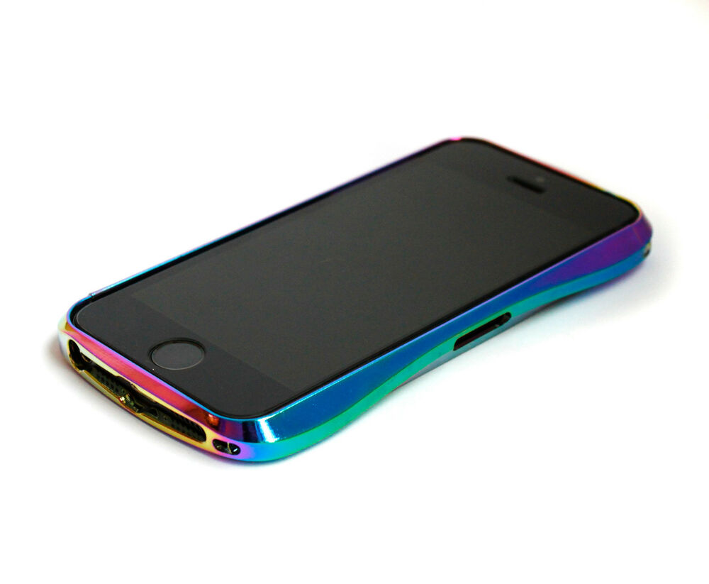 iphone 5s aluminum case bumper iphone 5 5s 5se slick jet fuel neochrome 14735