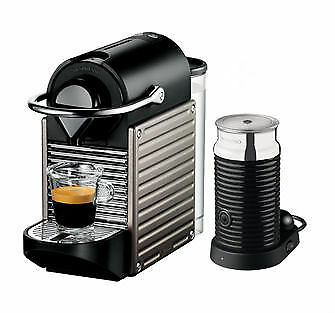 krups nespresso pixie xn 301t electric titan neu mit. Black Bedroom Furniture Sets. Home Design Ideas