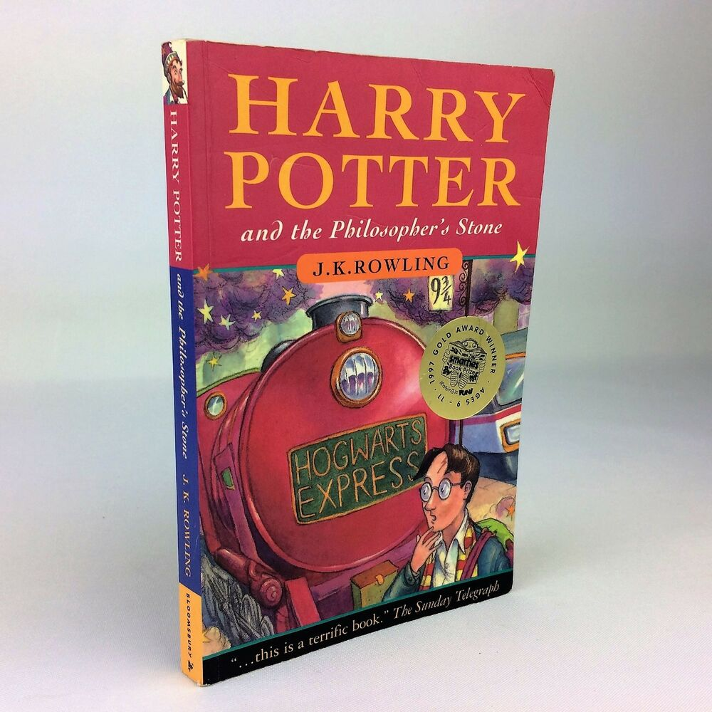 J K Rowling Harry Potter And The Philosophers Stone First