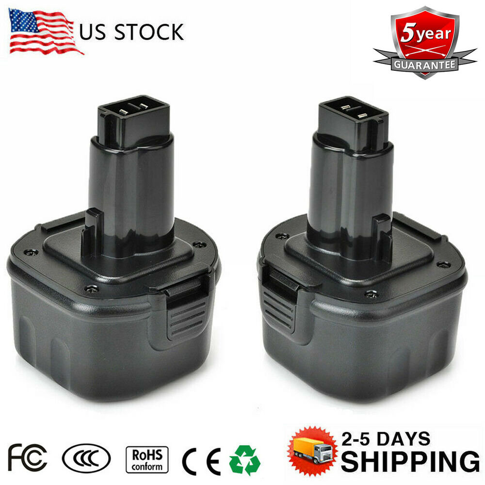 2pack 2 0ah battery for dewalt dw9062 dw9061 de9062 9. Black Bedroom Furniture Sets. Home Design Ideas