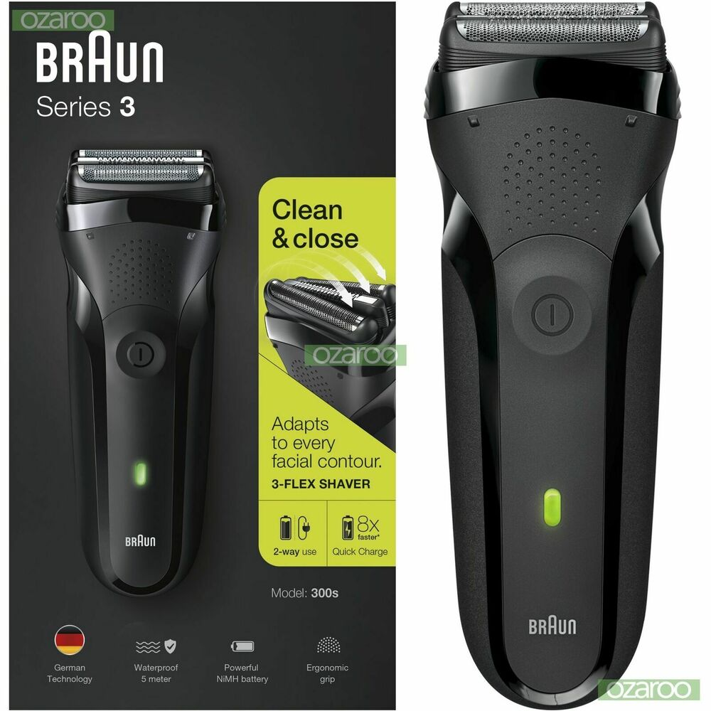 Braun Series3 300s Men Electric Clean Shaver Rechargeable