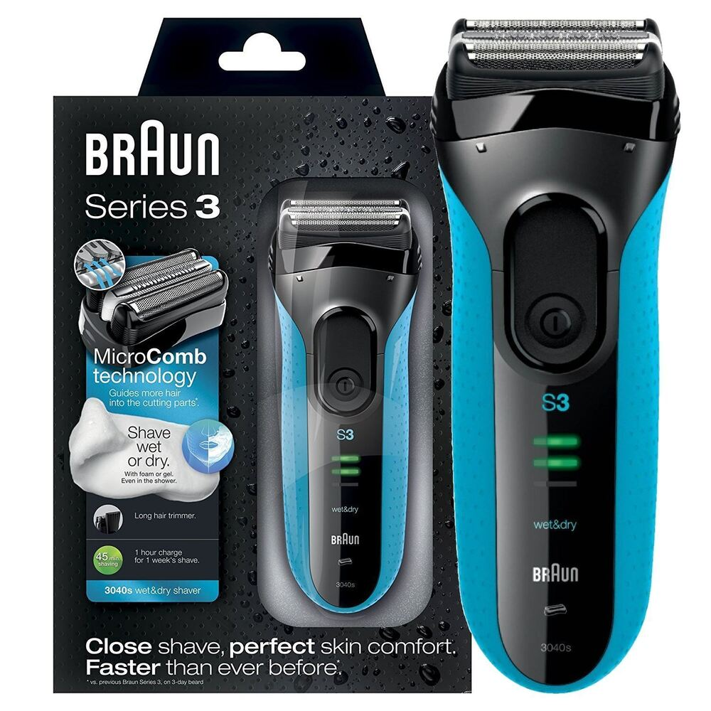 braun series 3 proskin 3040s wet and dry mens electric. Black Bedroom Furniture Sets. Home Design Ideas