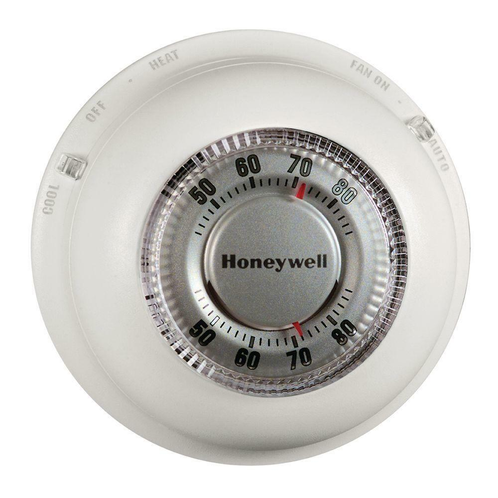 Honeywell The Round Heat Only Thermostat Ct87k Non