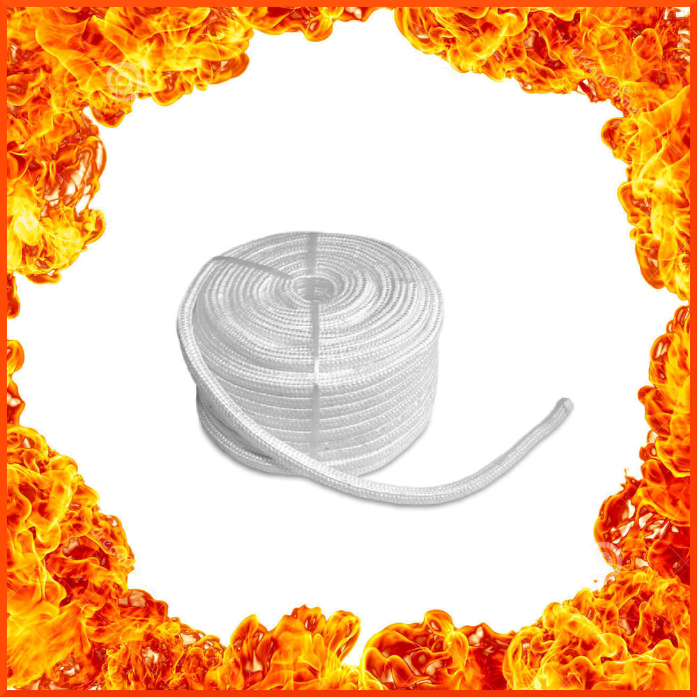 Stove rope for wood burning stoves door glass fire seals for 14mm stove door rope