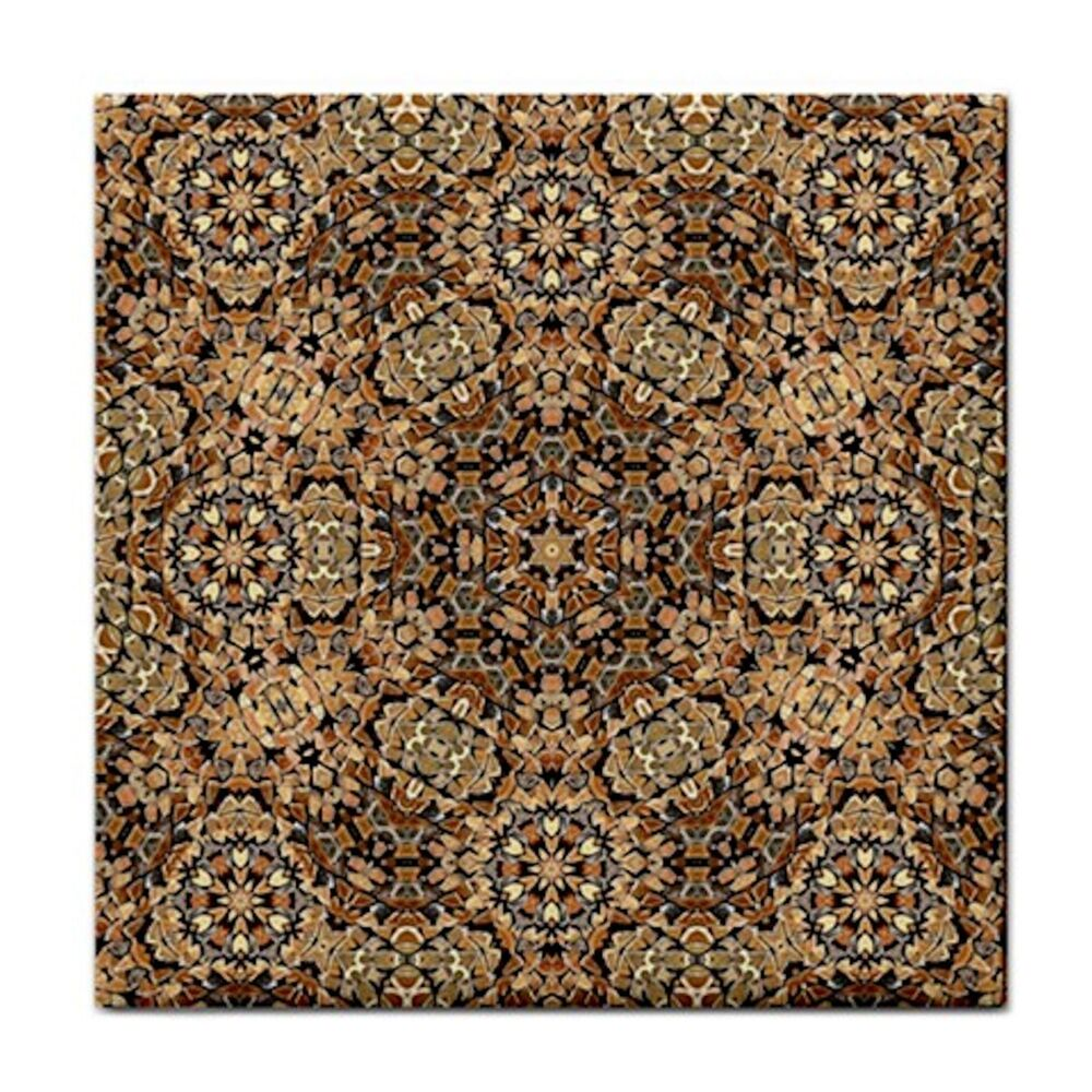 Checkered Moroccan Home Decor Ceramic Feature Wall Tile