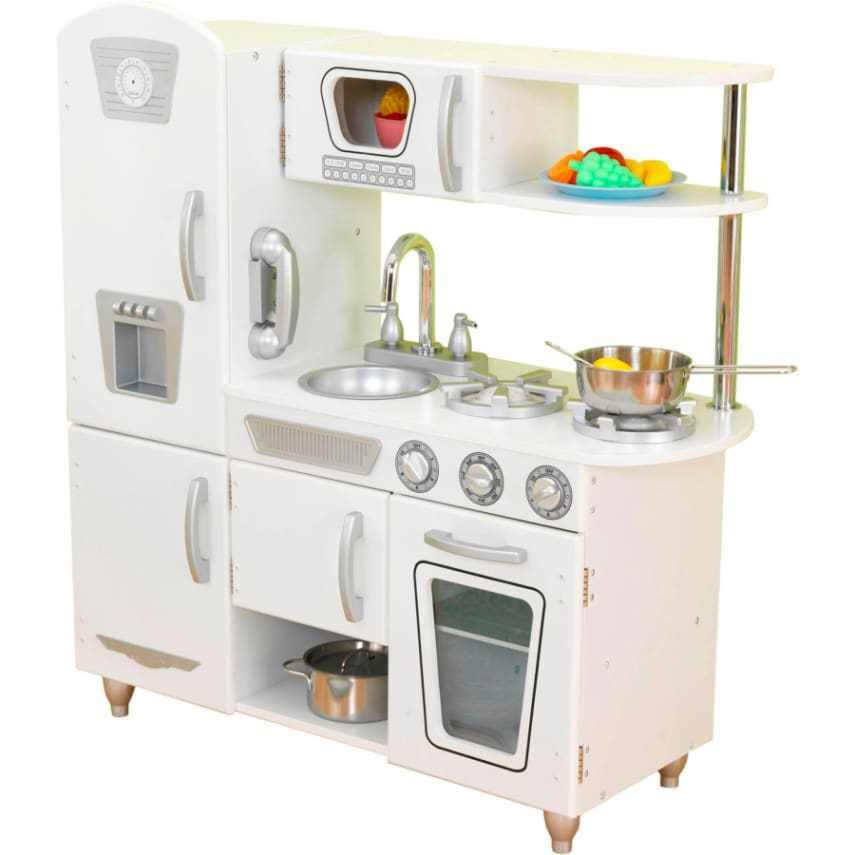 Kidkraft Ultimate Corner Kitchen With Lights Sounds White