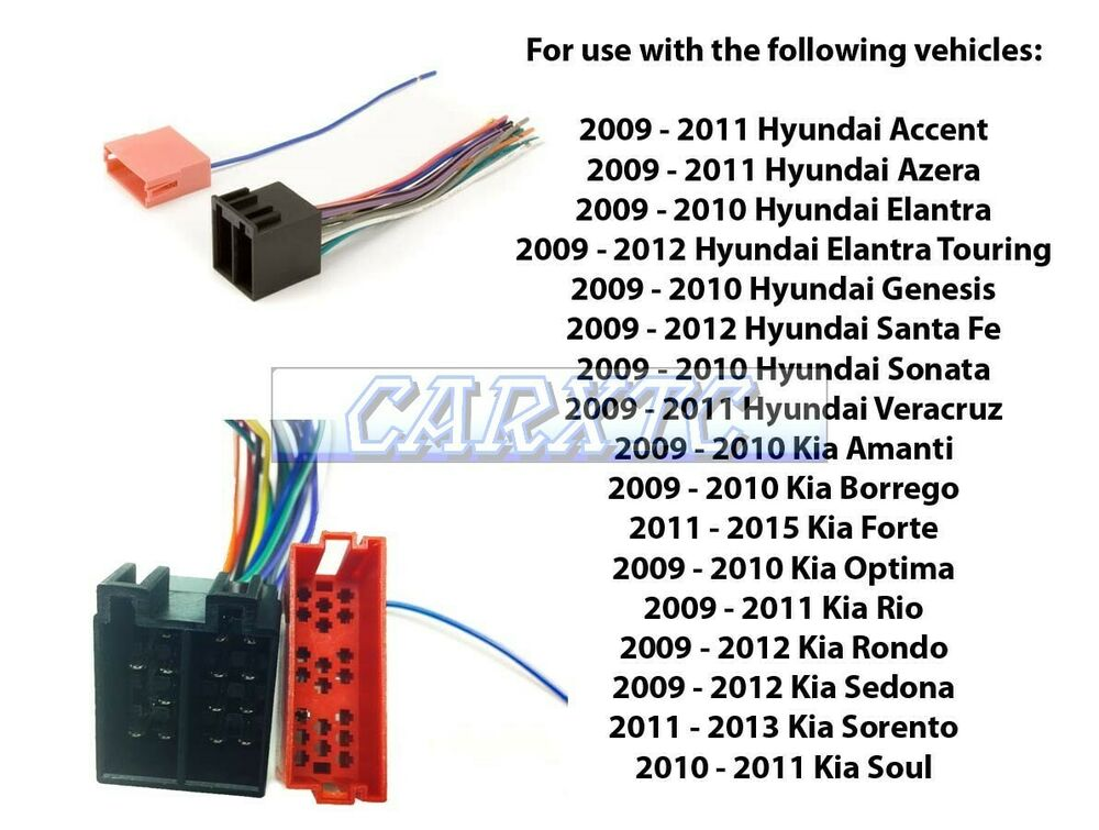 Aftermarket Stereo Install Radio Wire Harness: Amplified ...
