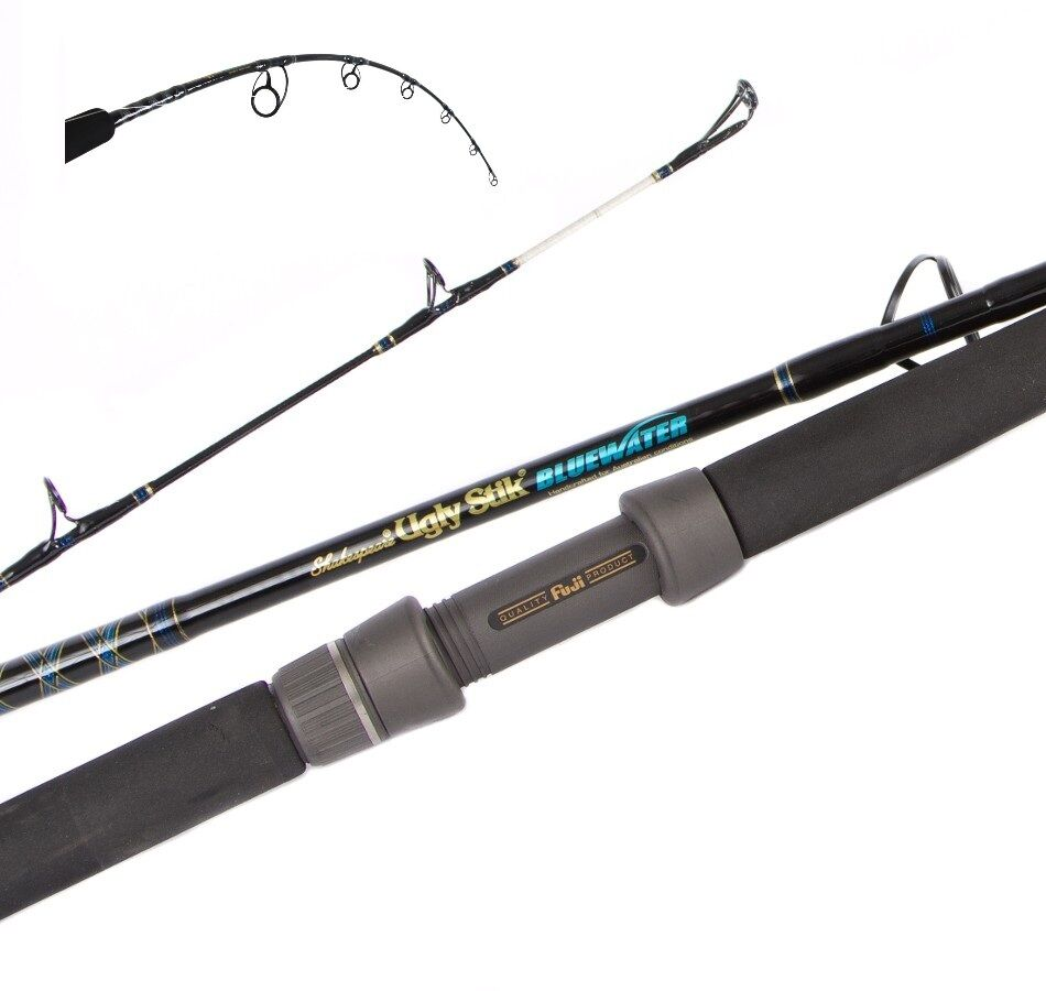 Shakespeare ugly stik bluewater spin jig rod usb jsp5624 for Ugly stick fishing rods